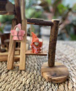 Nhà gỗ đồ chơi gỗ