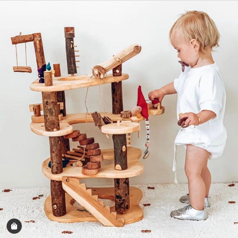 Đồ chơi mô hình nhà gỗ