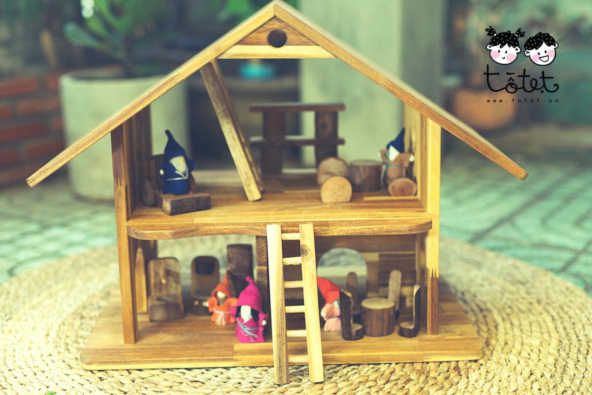 Nhà chơi gỗ