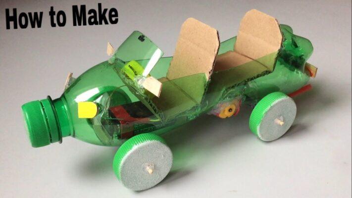 Làm đồ chơi cho trẻ mầm non bằng phế liệu