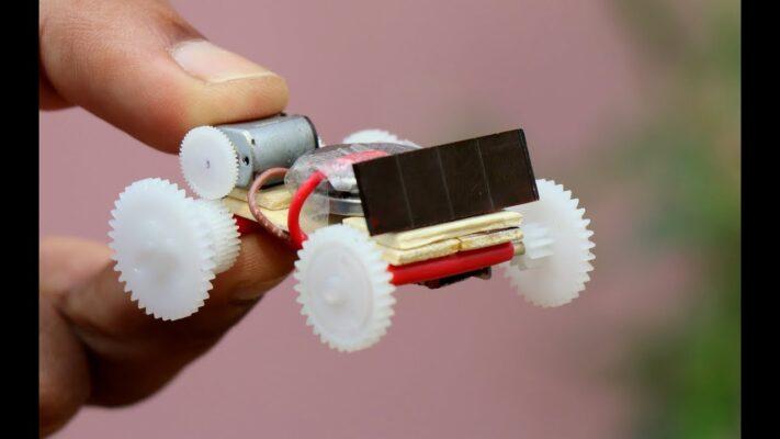 Cách làm xe đồ chơi chạy bằng mô tơ